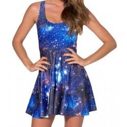 Платье с космосом