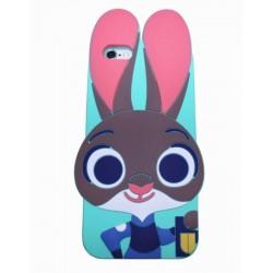 Чехол Кролик из Зверополиса для iPhone 6, 6s (4,7) яркий