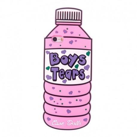 Чехол Boys Tears розовый для iPhone