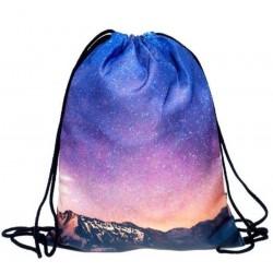 Мешок для сменной обуви Звездное небо