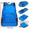 Рюкзак трансформер голубой