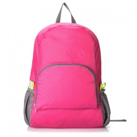 Складной рюкзак розовый