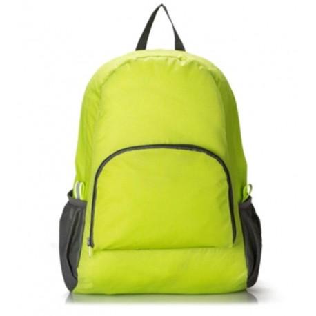 Складной рюкзак салатовый