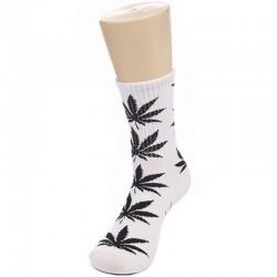 Носки с коноплей белые