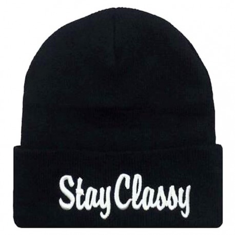 Шапка с надписью Stay Classy
