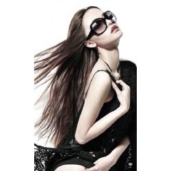 Солнцезащитные черные очки