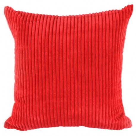 Наволочка декоративная красная