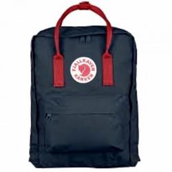 Рюкзак Kanken синий, красные ручки