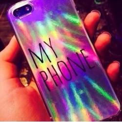 Чехол голографический My Phone набор из 5 шт для iPhone 5, 5s