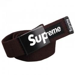 Ремень Supreme коричневый