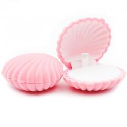 Бархатная коробочка для ювелирных изделий розовая