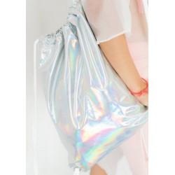 Голографический рюкзак с затяжкой