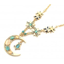 Ожерелье Луна и звезды