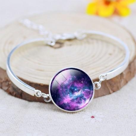 Браслет фиолетовая галактика