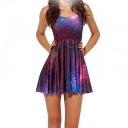 Платье Космос фиолетовый