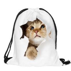 Мешок-рюкзак котенок