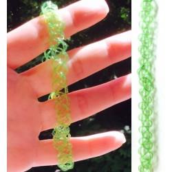Чокер зеленый на шею