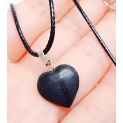 Кулон сердце из агата 2,5 см