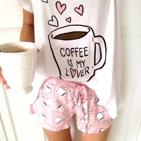 Пижама Coffee is my lover