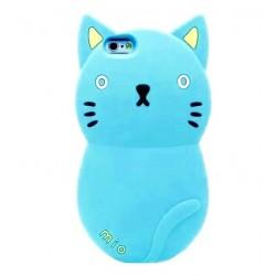 Чехол синий котик для iPhone 5, 5s