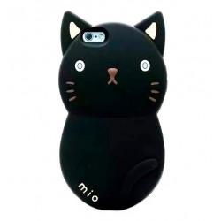 Чехол черный кот для iPhone 4, 4s, 5, 5s