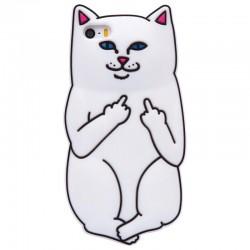 Чехол Кот с факами для iPhone