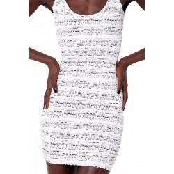 Платье Ноты