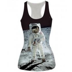 Майка с космонавтом