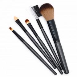Кисти для макияжа черные 5 шт