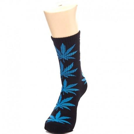 Носки с синей коноплей