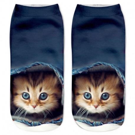 Носки с котятами