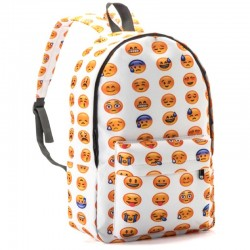 Рюкзак со смайлами