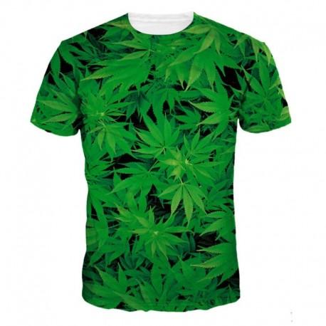 Мужская футболка с коноплей
