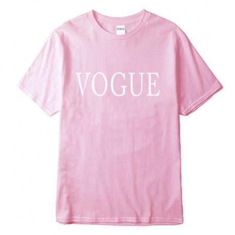 Футболка Vogue розовая