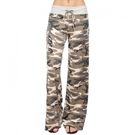 Женские камуфляжные брюки