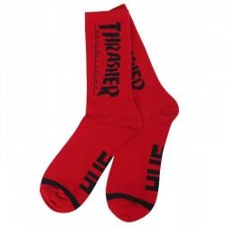 Носки Thrasher x Huf красные