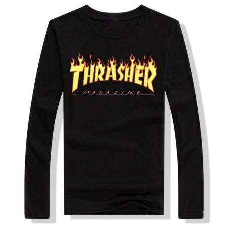 Thrasher футболка с длинным рукавом