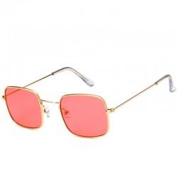 Красные очки квадратные