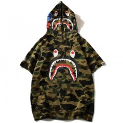 Футболка Bape Shark с капюшоном