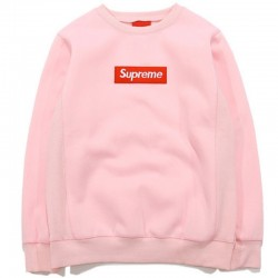 Розовый свитшот Supreme