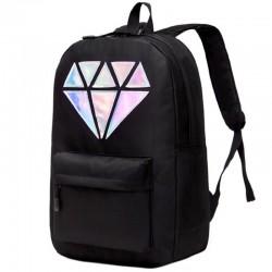 Рюкзак с голографическим бриллиантом