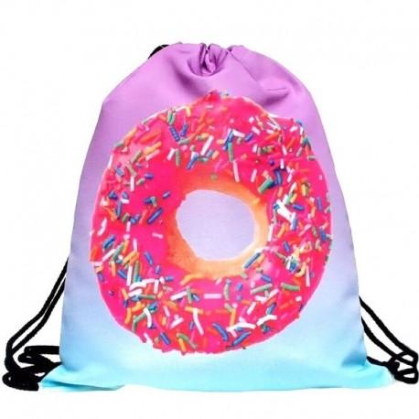 Мешок для обуви с пончиком