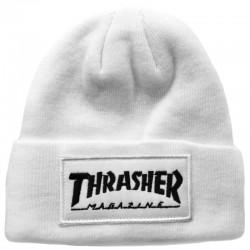 Белая шапка Thrasher