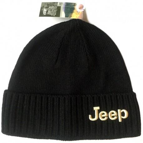 Черная шапка Jeep