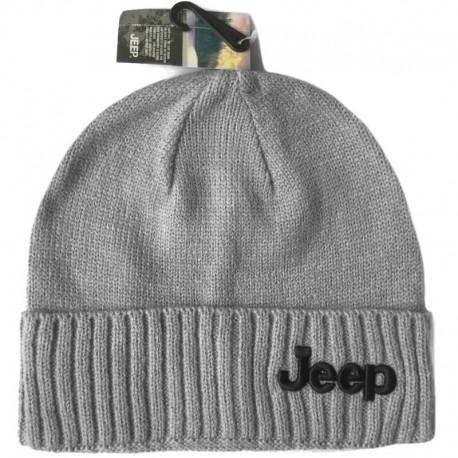 Серая шапка Jeep