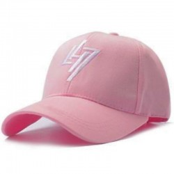 Розовая кепка LH7