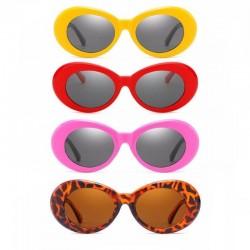 Очки Кобейна желтые, красные, розовые, леопардовые