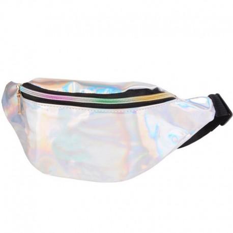 Голографическая сумка на пояс