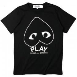 Футболка Comme Des Garcons Play Black