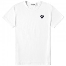 Футболка Comme Des Garcons Play White